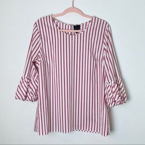 Candy cane peppermint blouse